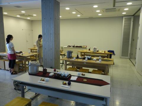 中国茶教室の様子