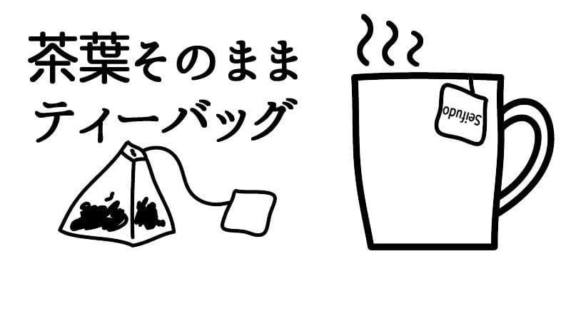 茶葉そのままティーバッグ